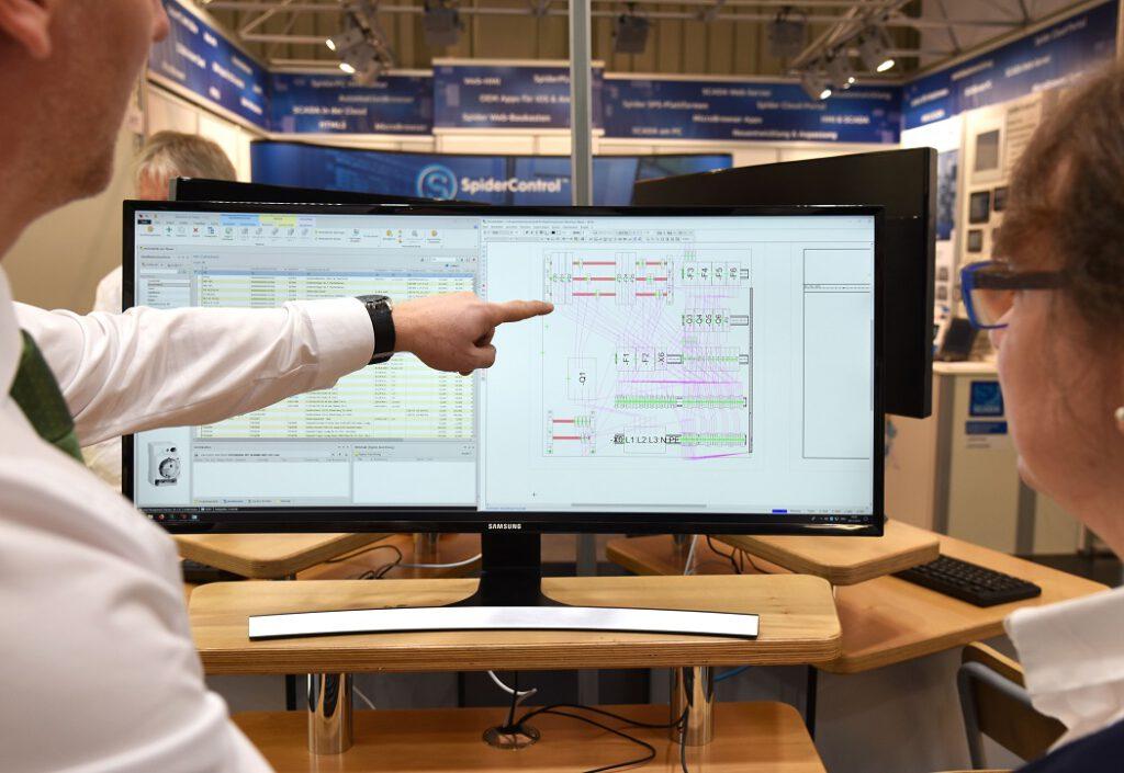 Die CAE-Software ProPlan auf einem Bildschirm
