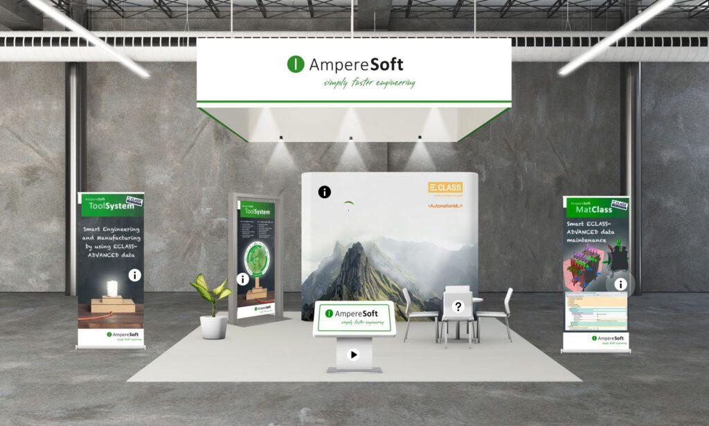 Virtueller AmpereSoft-Infostand auf dem ECLASS CONGRESS